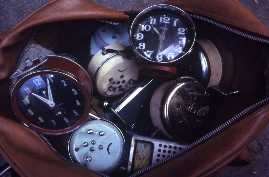 Bag Full of Clocks, Sam Shui Po, 1983
