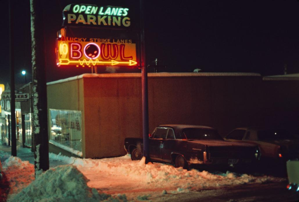Lucky Strike Lanes. 1975