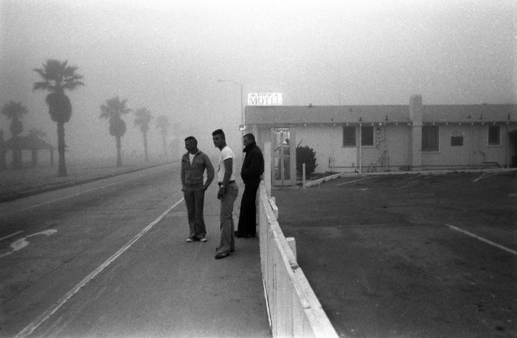 Three Marines, Oceanside, California, 1978