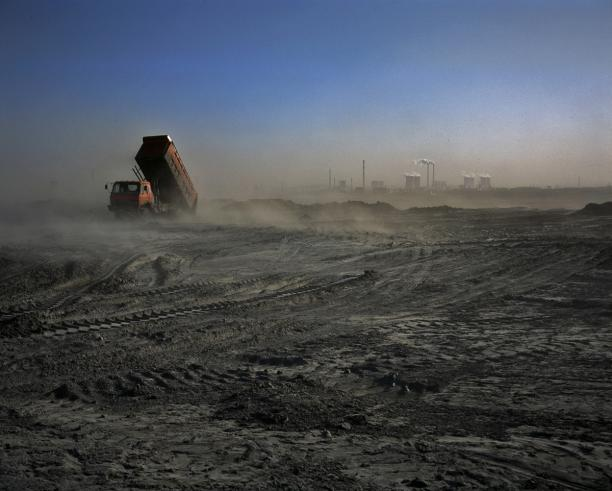 Coal Ash Dump Ground, Ningxia. 'Can China Go Green?' National Geographic, June 2011