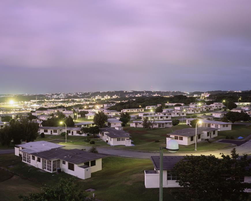 USMC Camp Foster, Housing Area, Okinawa, Japan. 2008
