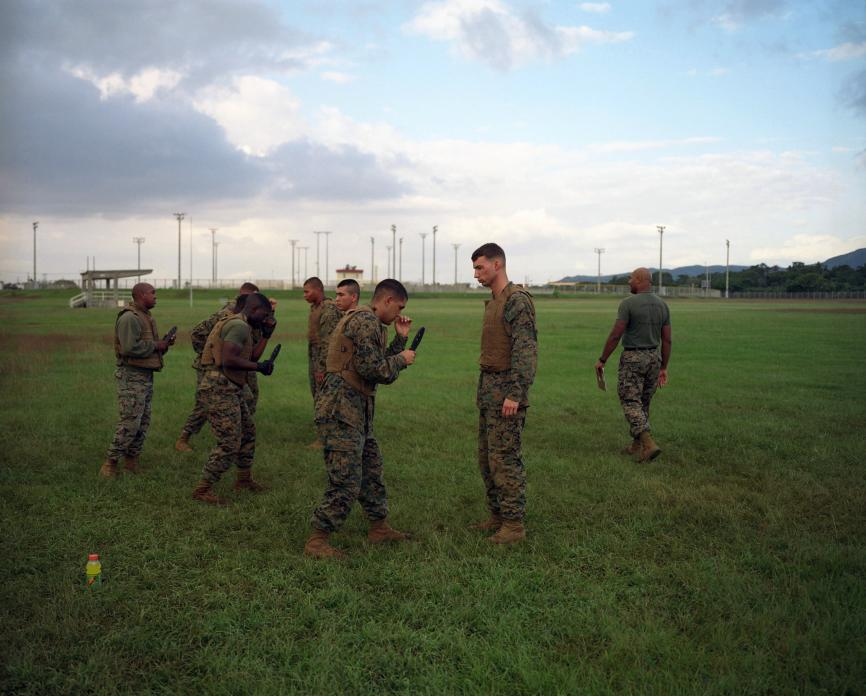 USMC training, Camp Schwab, Okinawa. 2008