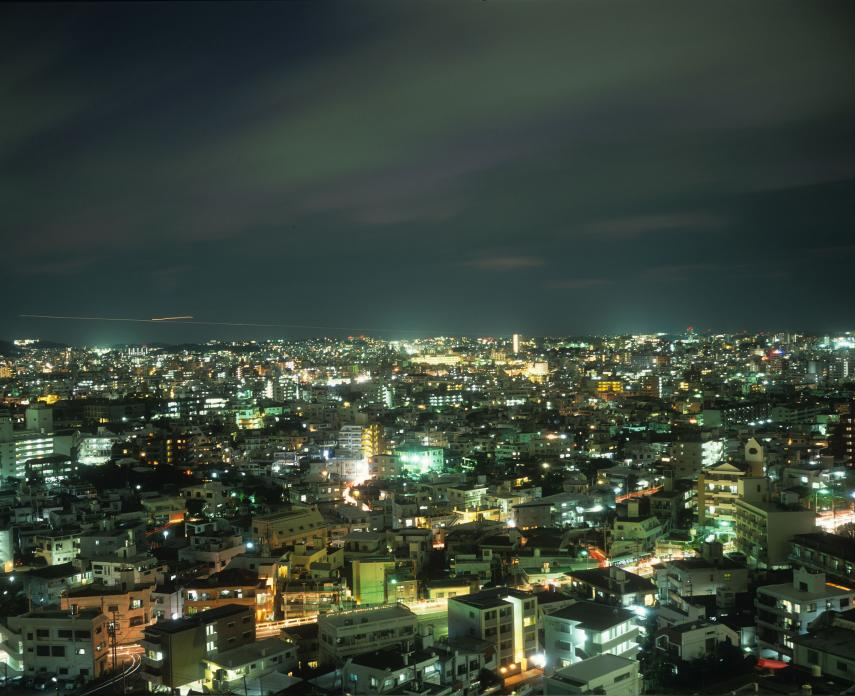 Naha Night Overview. 2014