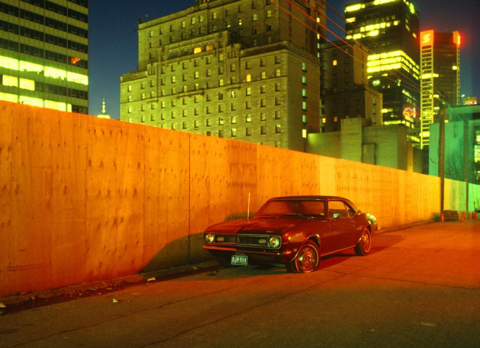 Camaro in Alley, 1981