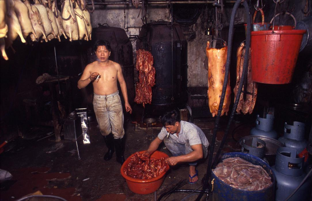 BBQ Meat Factory, 1990