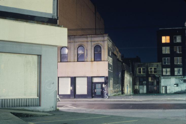 'Pumps', Cordova St., 1982
